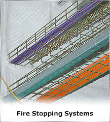 Fire stopping systems