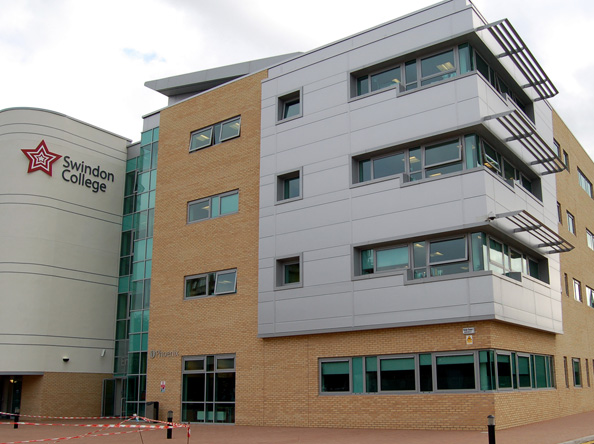 The Phoenix Building, Swindon College, Swindon, UK
